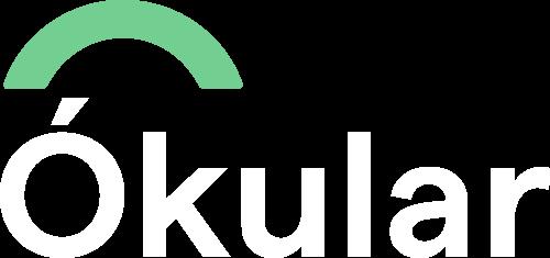Okular logo negativo