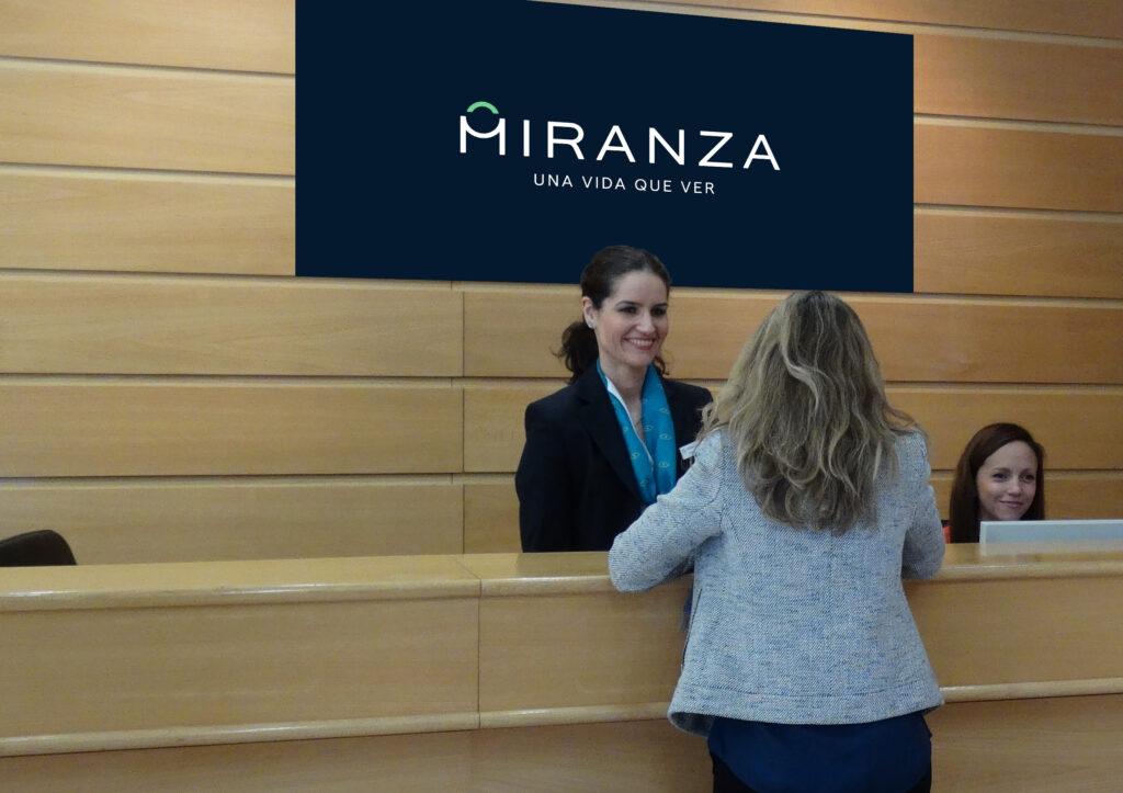Recepcion Miranza