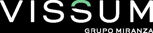 Vissum logo negativo