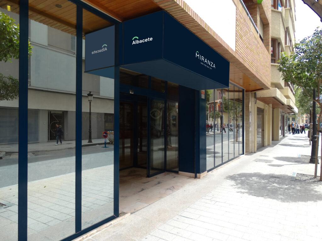 Fachada Miranza Albacete