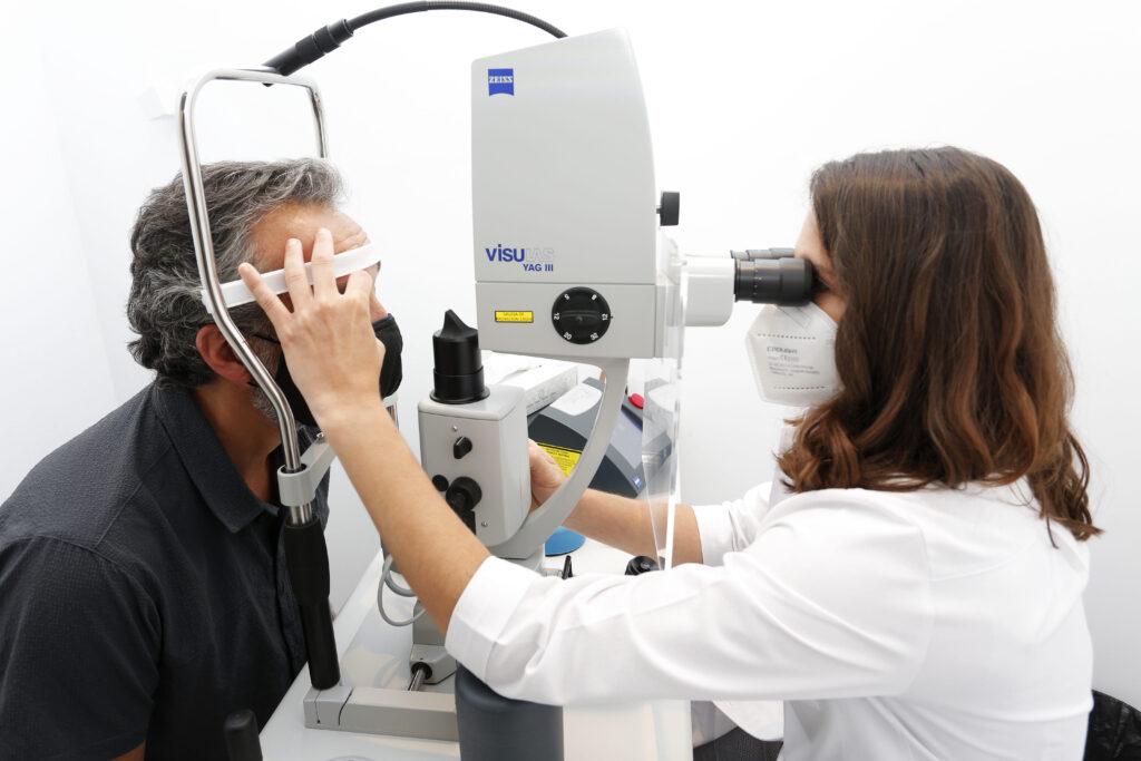 Tratamiento laser glaucoma