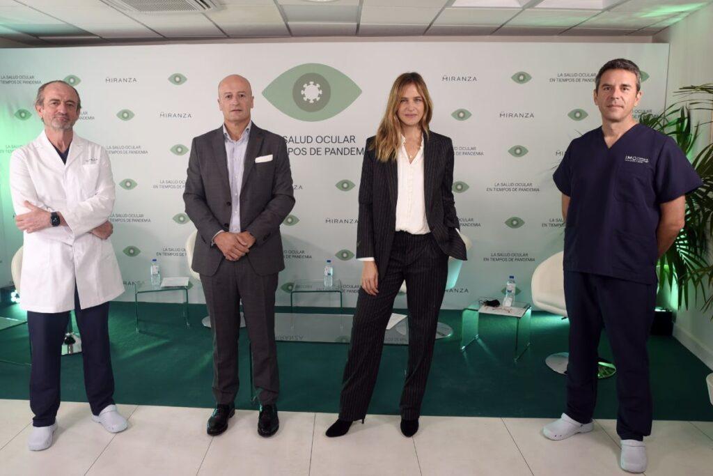 Dr.Poyales, Ramón Berra, Martina Klein y Dr. Elies