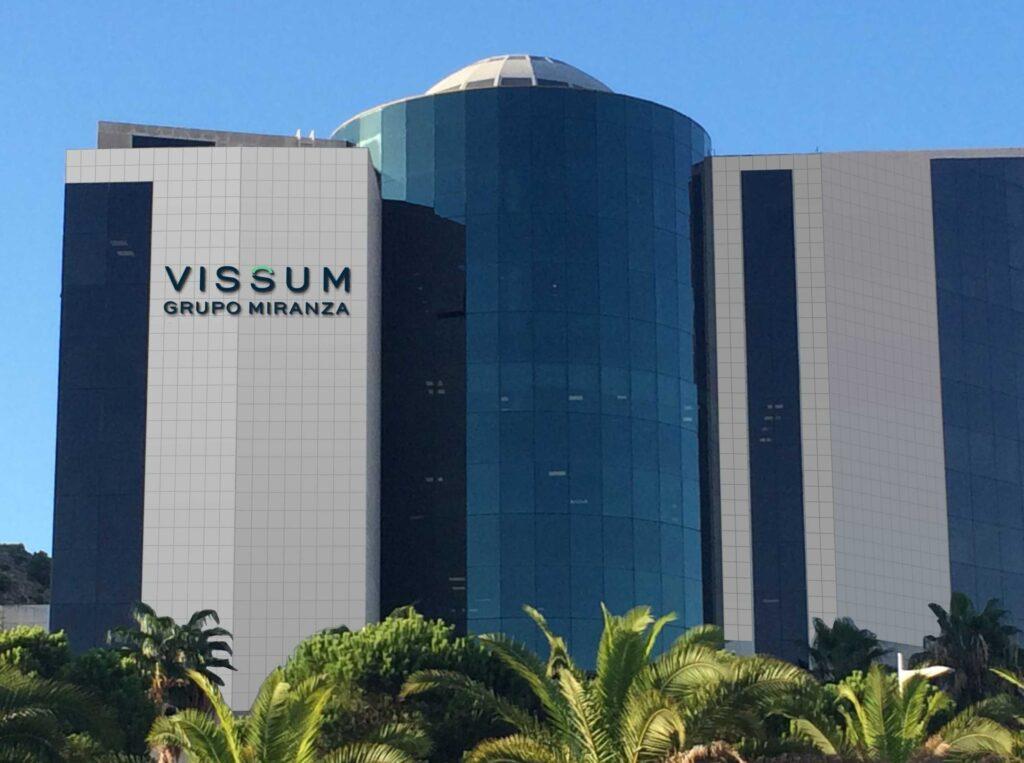 Fachada de Vissum Grupo Miranza
